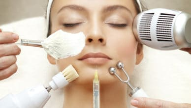 cleaning skin pores